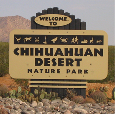 Welcome to the Chihuahuan Desert Nature Park